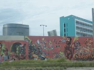 Grafiti Bistrita Transilvania