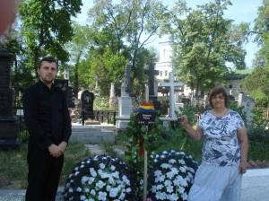 La căpătâiul lui Grigore Vieru, Florin Bojor
