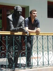 Florin Bojor, statuie Ion Ratiu