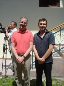 Florin Bojor, Mark Gitenstein - ambasadorul SUA