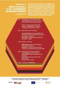 Florin I. Bojor - Conferință la Barcelona