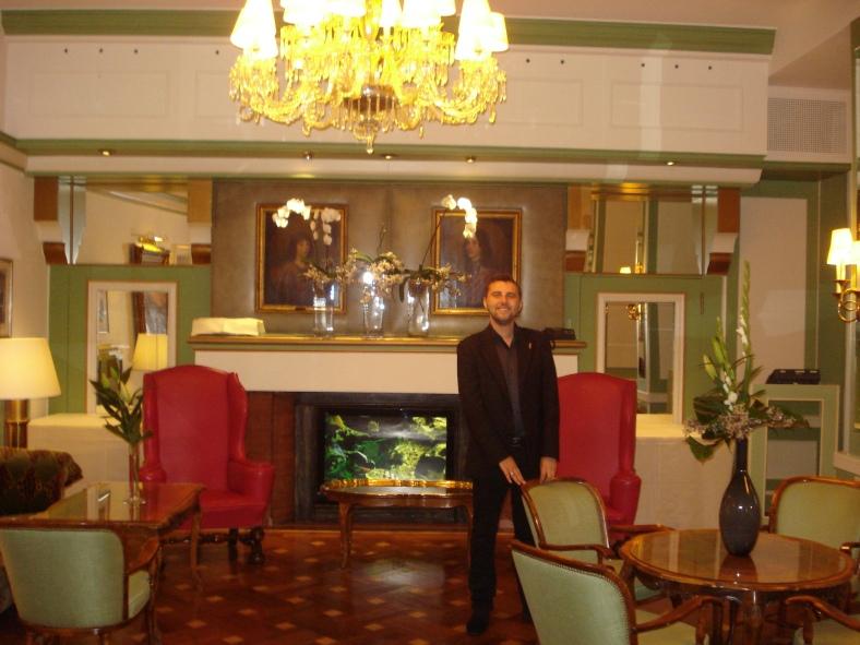Florin I. Bojor - Hotel Europa, Heidelberg (locul unde a murit Al. I. Cuza)