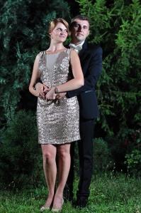 Nunta lui Florin I. Bojor si a Ioanei Cozman