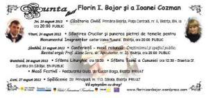 Invitație la Nunta lui Florin Ioan Bojor şi a Ioanei Cozman