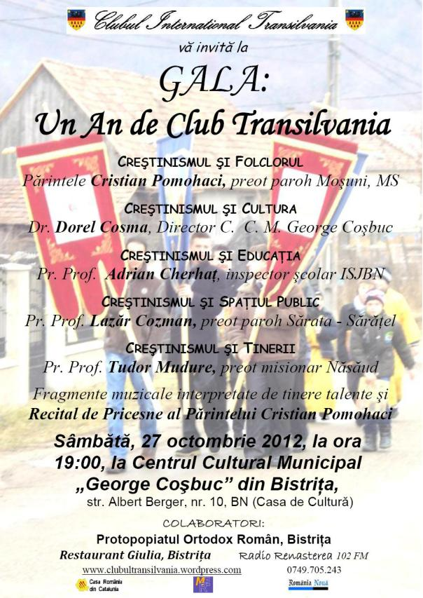 Gala Un An de Club International Transilvania