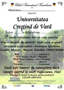 Universitatea Crestina de Vara