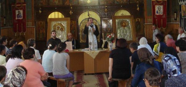 Părintele Gavril Horţ la Marţea Gândirii Creştine