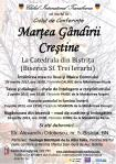 Martea Gandirii Crestine Pasti 2013