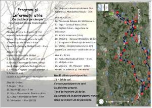 Pliant Pelerinaj cu Bicicleta la Manastirile din Campia Transilvaniei