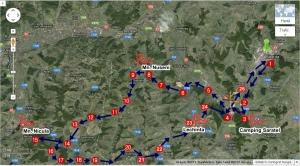 Traseu pelerinaj cu Bicicleta la Bisericile din Campia Transilvaniei