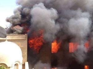Biserici arse in Egipt