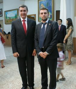 Printul Duda primit la Casa Romania din Catalunia