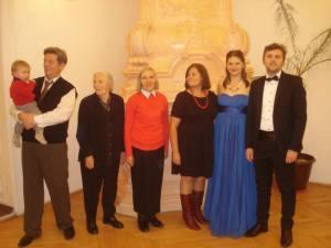 Revelion in familie la Castelul de la Arcalia