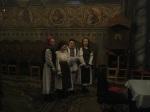 Elevi interpretând pricesne la Marțea Gândirii Creștine