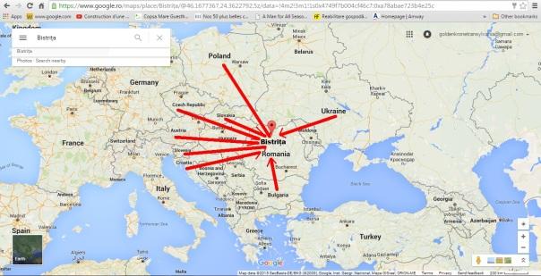 Bistrita - capitala tuturor Bistritelor din Europa
