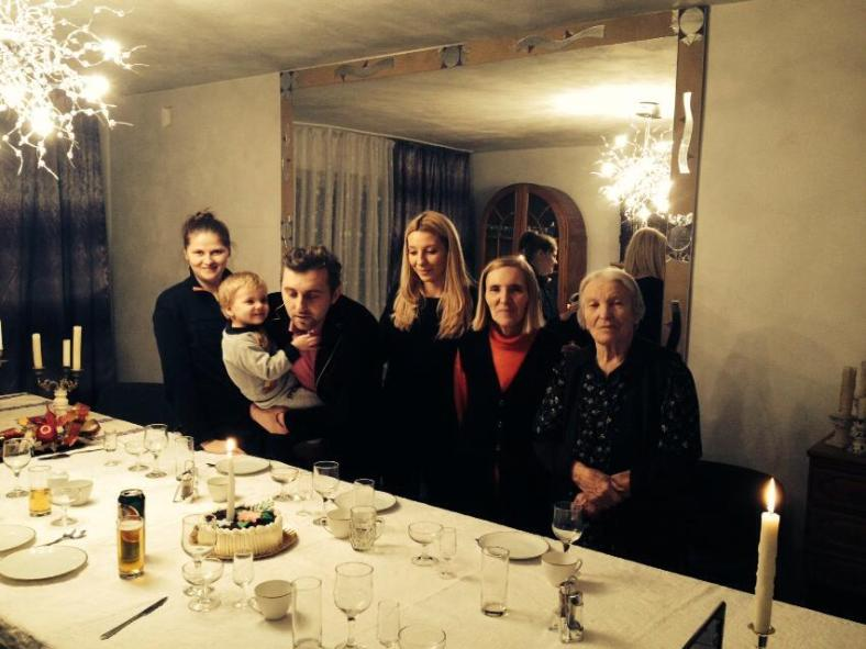 Florin Bojor si familia la 32 de ani