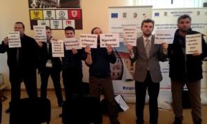protest societatea civila bistriteana