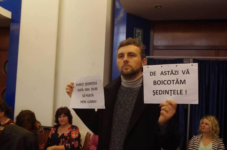 Florin Bojor boicot CJ