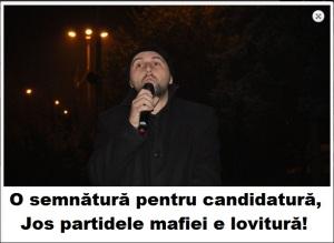 Florin Bojor - semnaturi candidatura