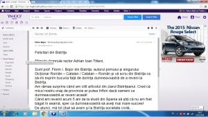 Titieni - Bojor - e-mail