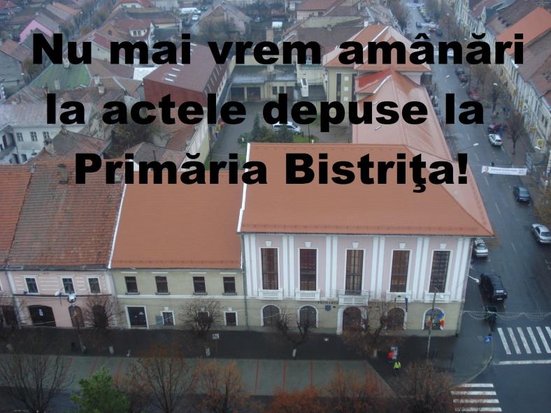 protest primaria bistrita