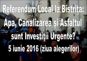 Referendum 2016 la Bistrita