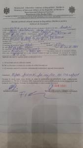 Lipsa procura masina vama R. Moldova