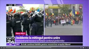 Bistrita la marsul pentru unire din Bucuresti