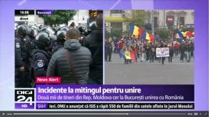 Bistriteni la marsul pentru unire din Bucuresti