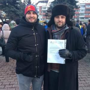 florin-bojor-protest-autorizat-bistrita