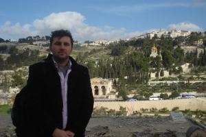 Muntele Maslinilor - de unde a venit Iisus de Florii spre Iersusalim