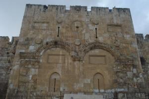 Poarta de Aur - pe aici a intrat Iisus de Florii in Ierusalim