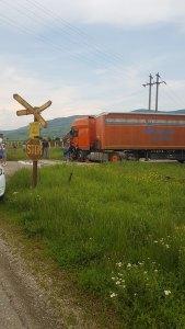 Istoria se repetă: nou accident la calea ferată. Slava Domnului fără victime!