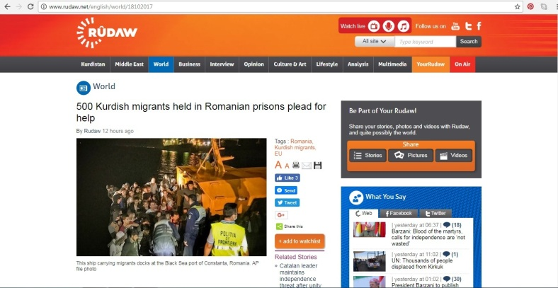 Femei kurde torturate in Romania - scrisoare deschisa Teodor Melescanu
