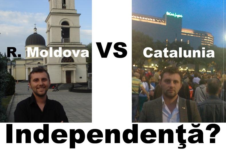 R. Moldova VS Catalunia - independenta