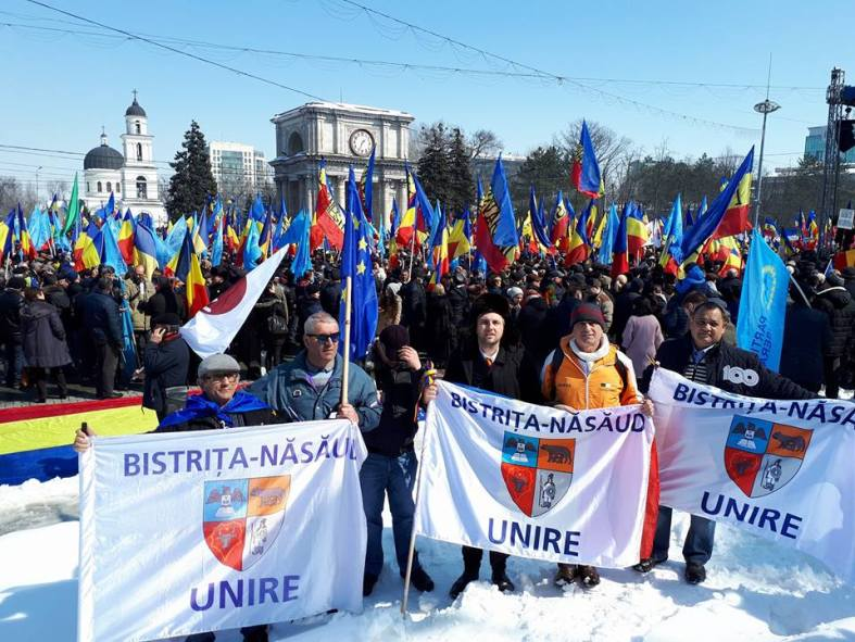 Bistriţenii cer Unirea în Chişinău la Marea Adunare Centenară