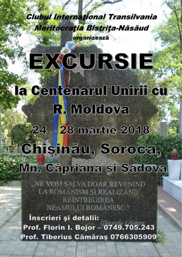 Excursie centenar unire chisinau