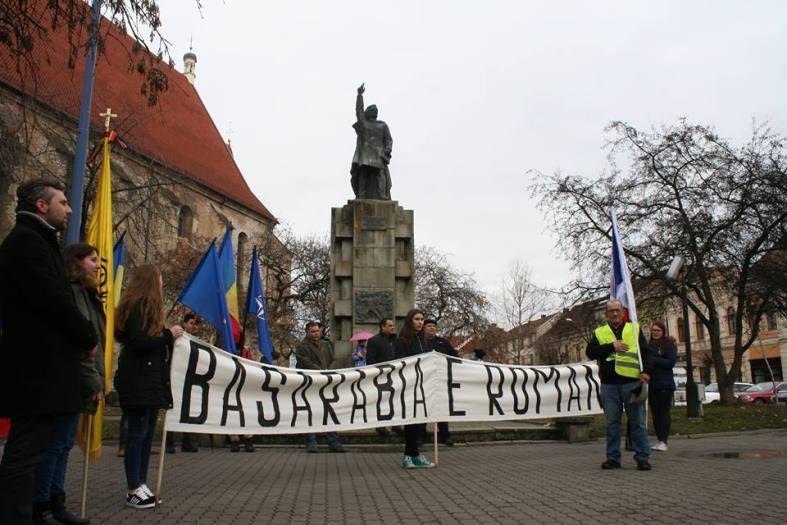 Pe jos din Bistrita spre Chisinau pentru Unire
