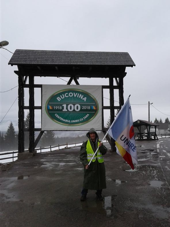 Pe JOS spre Chisinau Antal Francisc trece in Bucovina