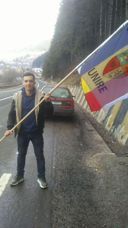 Stafeta Steagului Unirii in Bucovina