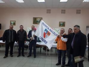 Steagul Unirii BN la Puhoi, R. Moldova