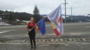 Suceveanca cu Stafeta Steagului Unirii