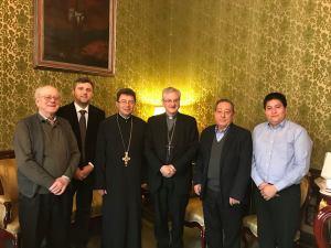Arhiepiscopia Andorrei - Gaspar Mora, Florin I. Bojor, Vasile Stanciu, Joan Enric Vives, Francesc Xavier Pares, Oscar Willard Arciniegas