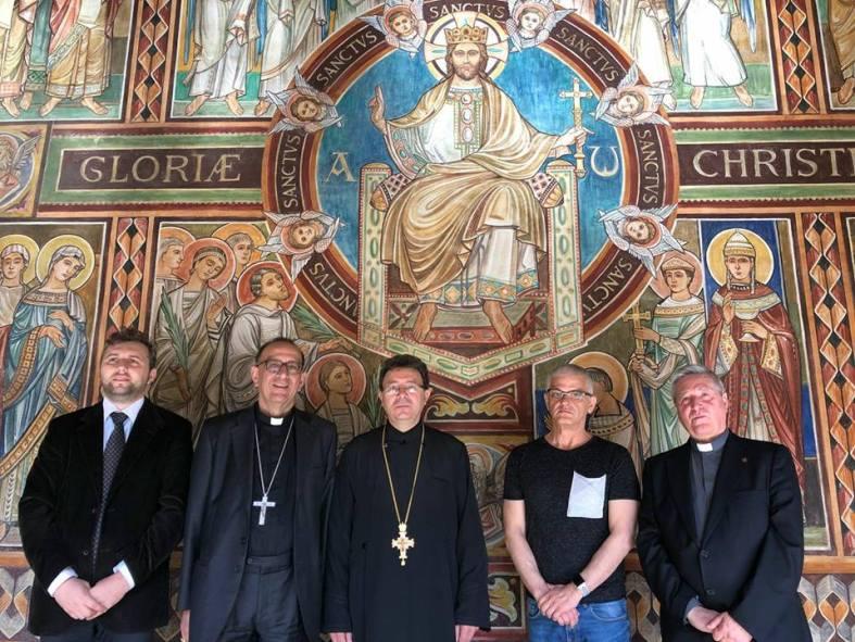 Arhiepiscopia Barcelonei - Florin I. Bojor, Juan Jose Omella, Vasile Stanciu, Agusti Boadas, Jose Ramon Perez