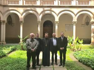 Facultatea de Teologie din Barcelona - Gaspar Mora, Armand Puig, Vasile Stanciu, Joan Planellas, Florin I. Bojor