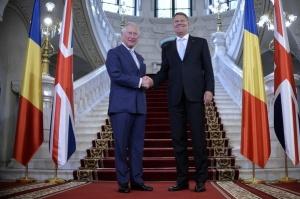 Printul Charles si Presedintele Iohannis