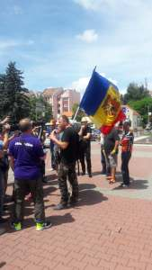 Malin Bot si unionistii #Rezist din Bistriţa