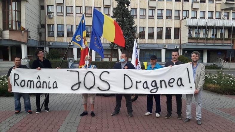 Protest 10 septembrie 2018 Bistrita - organizatori