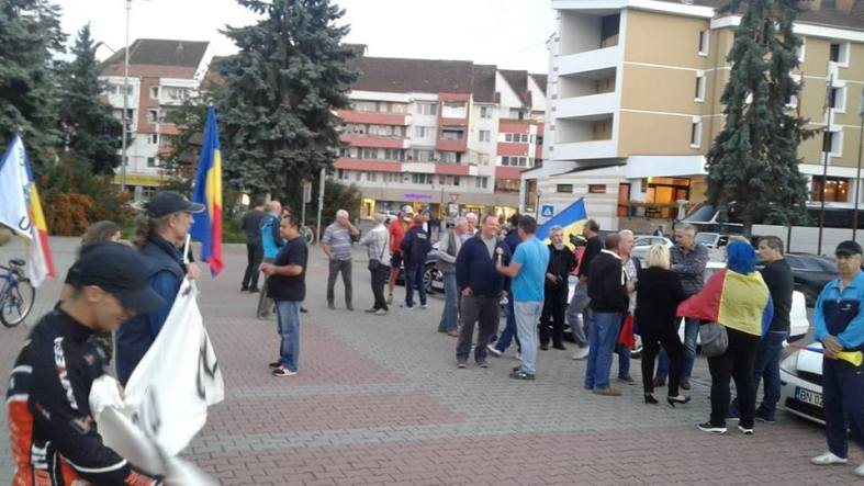 Protest Bistrita 10 septembrie 2018