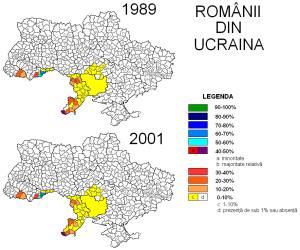 Romanii din Ucraina